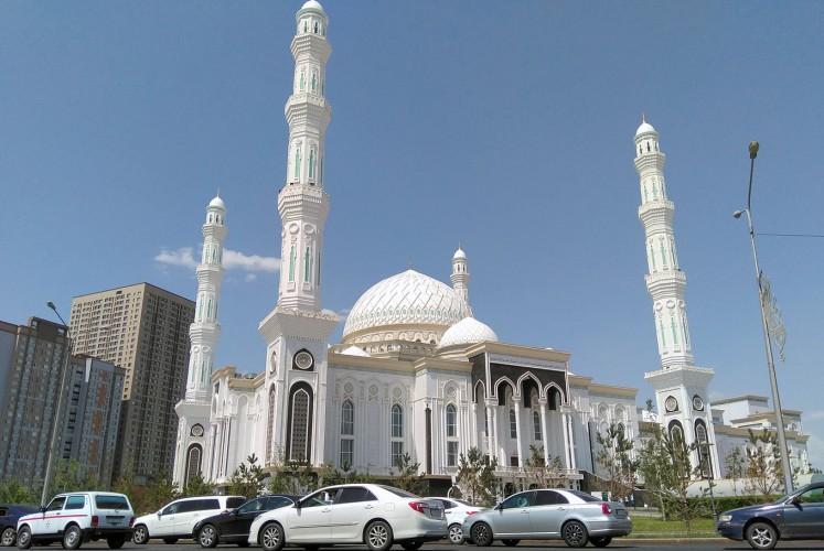 Astana, a city of modern structures