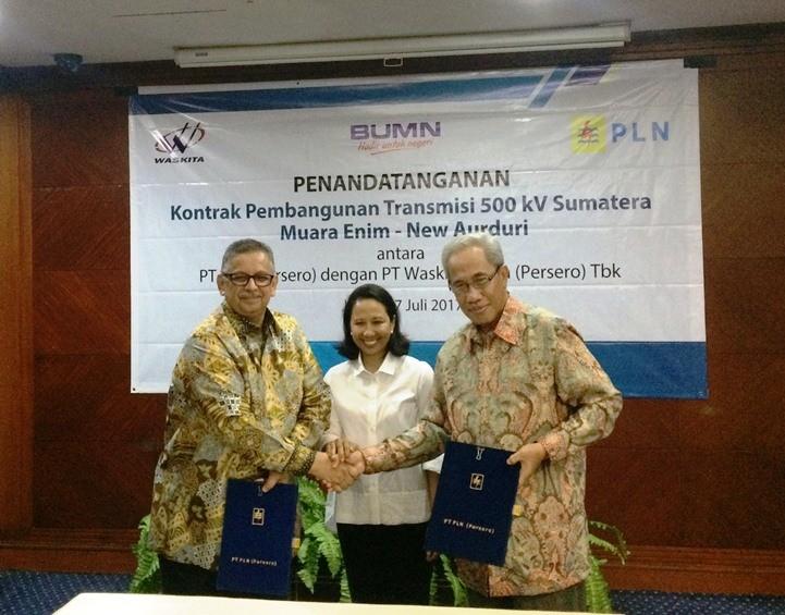 Waskita Karya to build PLN's South Sumatra-Jambi power grid
