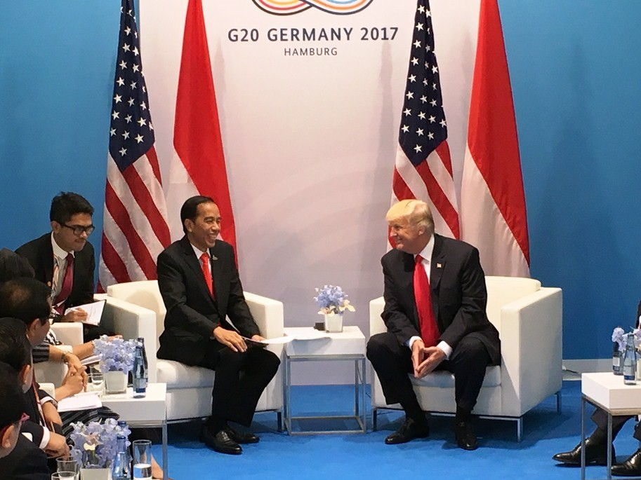 Jokowi invites Trump to Indonesia