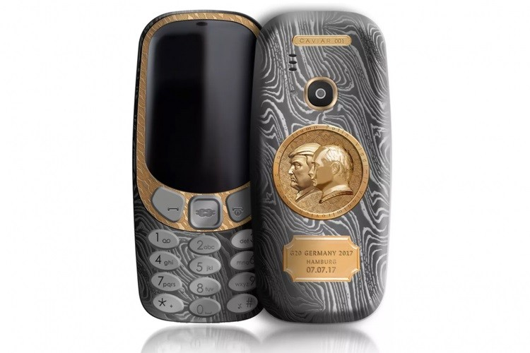 Putin-Trump Nokia 3310 edition goes for $2,500