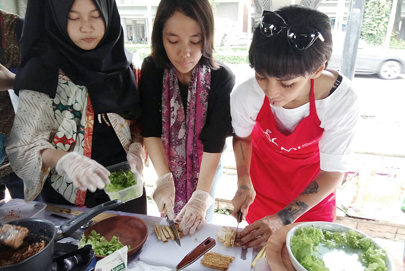 Spreading love of Indonesian cuisine