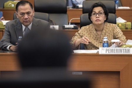 Sri Mulyani proposes more optimistic tax revenue target