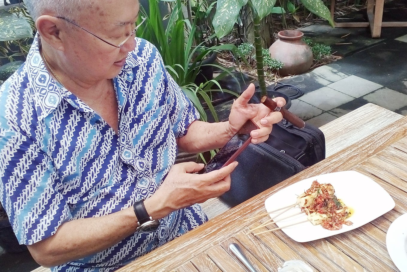 William Wongso serves up taste of Indonesia in Pretoria
