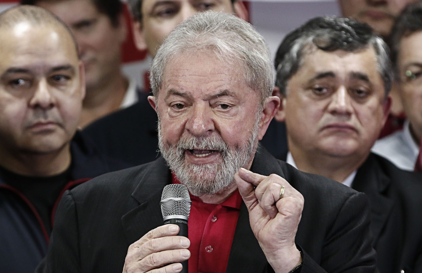 Brazil's Lula stays in prison as top judges tussle over release