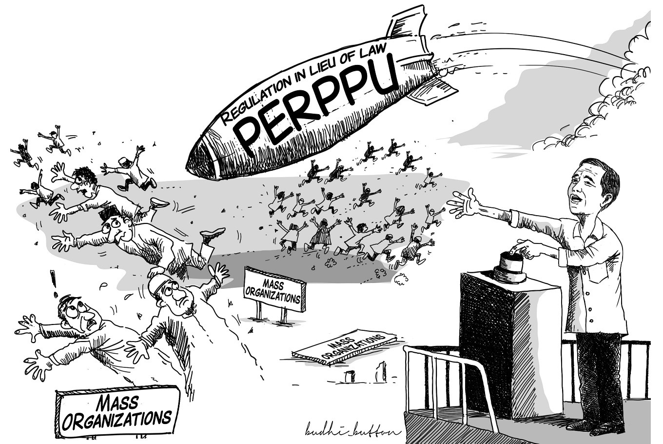 EDITORIAL: Perppu's slippery slope