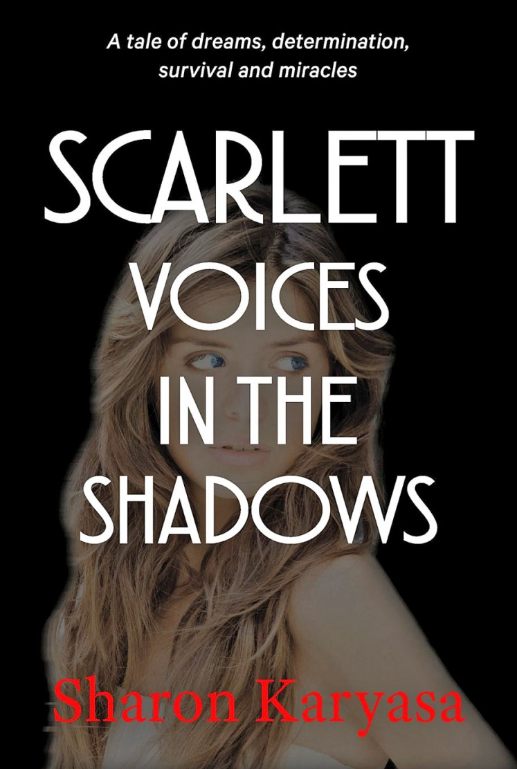 Scarlet Voices in the Shadows by Sharon Karyasa