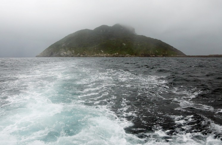 No visitors allowed on Japan's men-only UNESCO island
