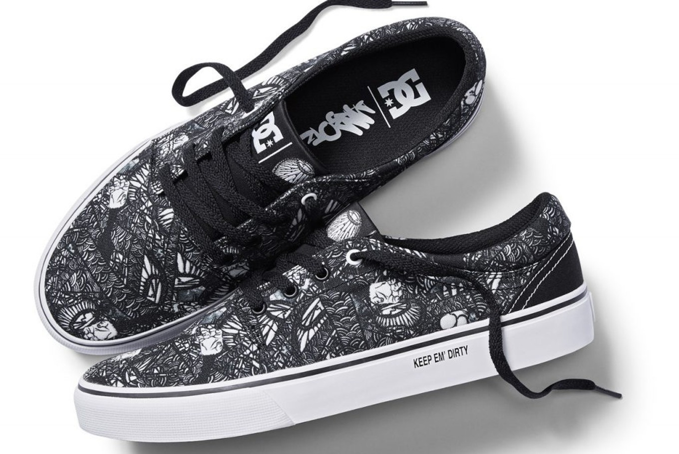 b2df286ddf56 DC Shoes collaborates with Indonesian graffiti artist Darbotz ...