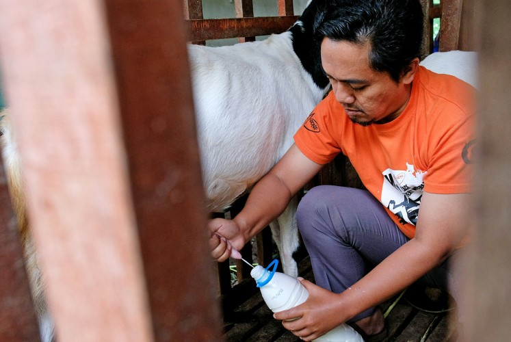 Delicious: A goat milk revolution is taking place the small village of Gombengsari in East Java by storm.