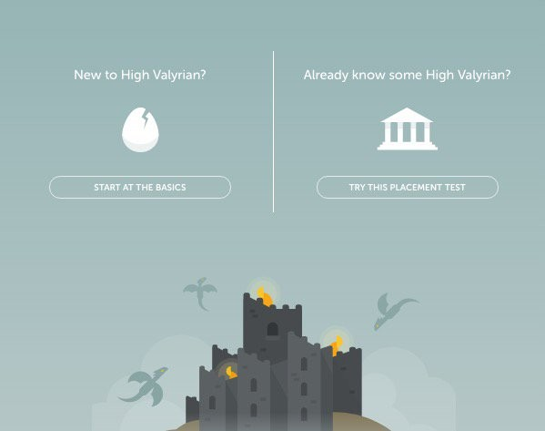 Game of Thrones' language course offered online, and for