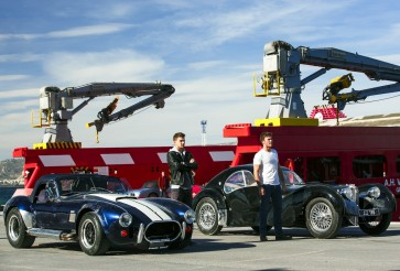 'Overdrive' a fun heist flick for classic car enthusiasts