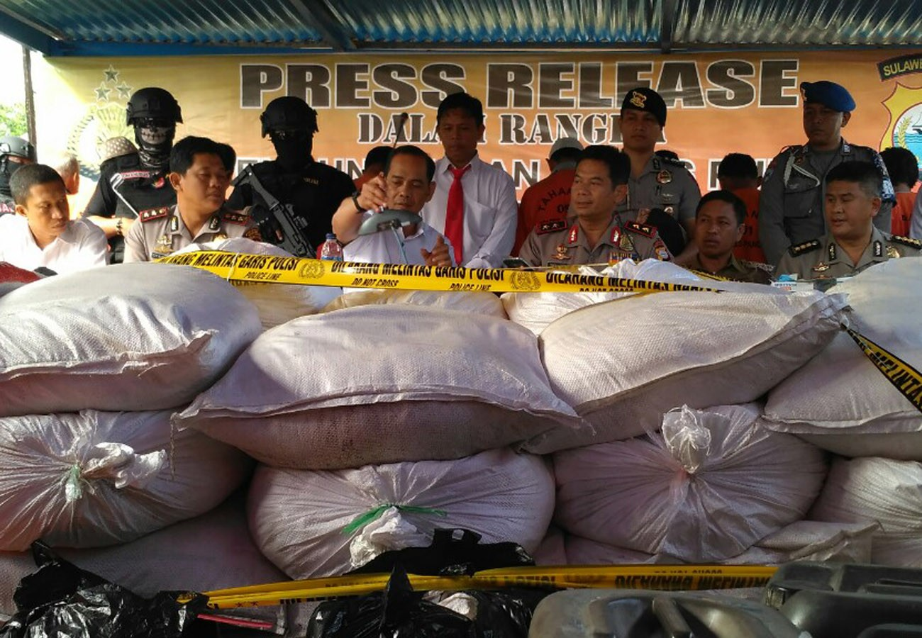 Police seize explosives imported from Malaysia