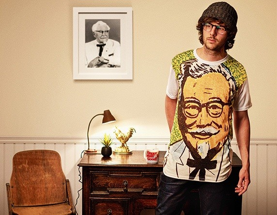 KFC releases fried chicken-inspired fashion line