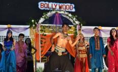 Singer and dancers entertain spectators at the festival. JP/Aman Rochman