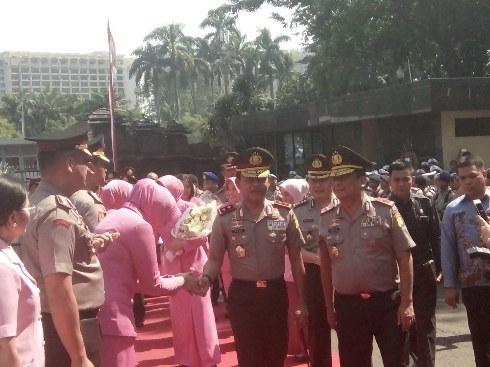 Jakarta Police welcome new chief