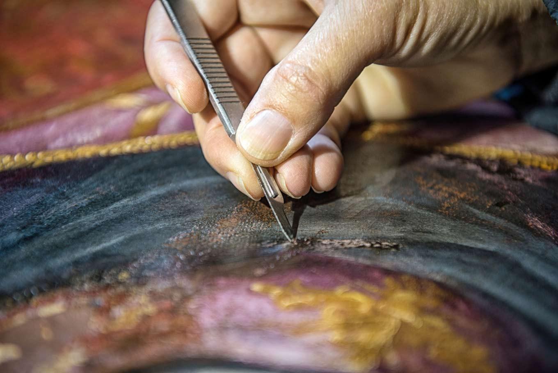 Art restoration: Saving cultural heritage