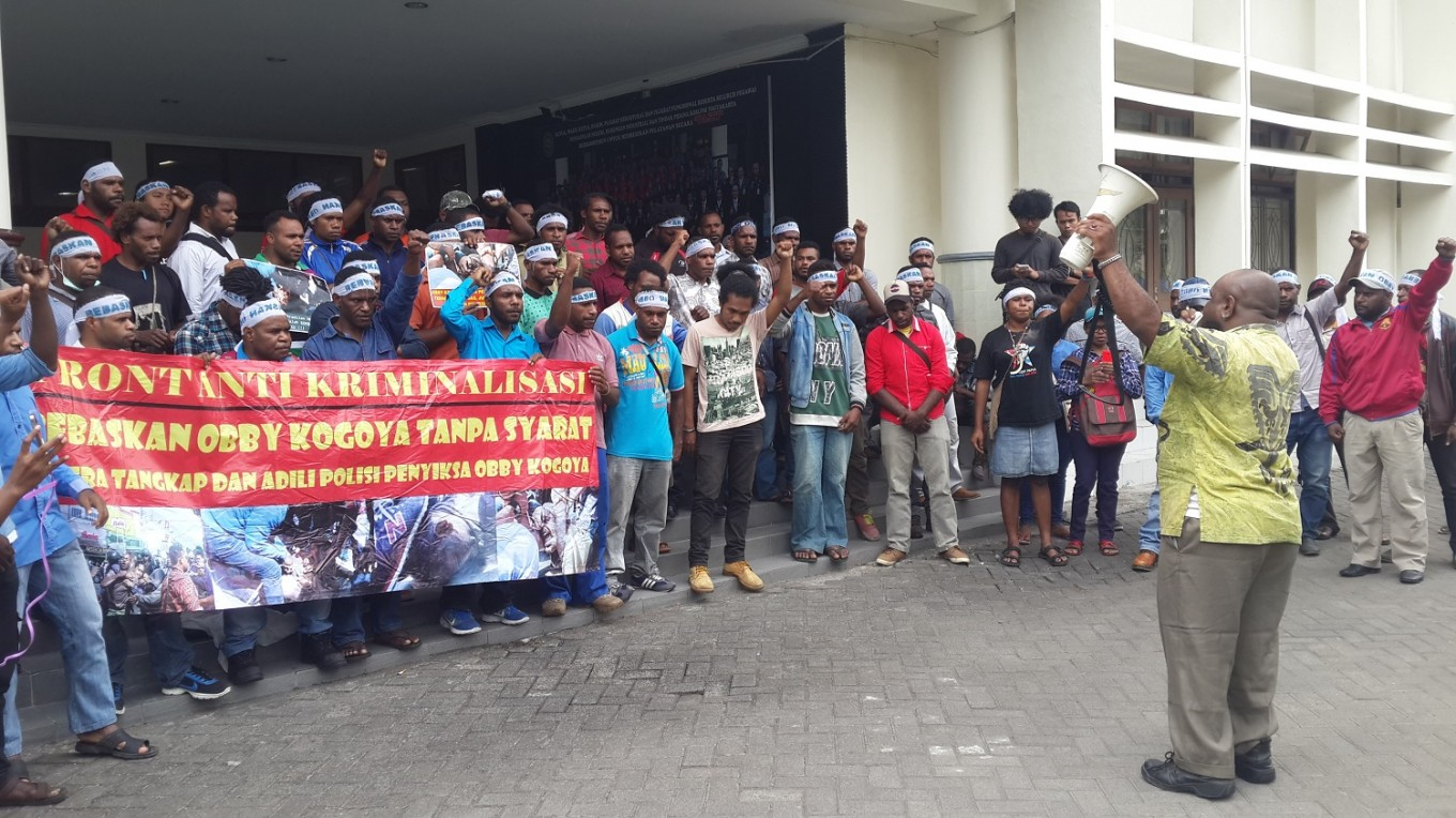 Papuan student jailed for resisting arrest in Yogyakarta