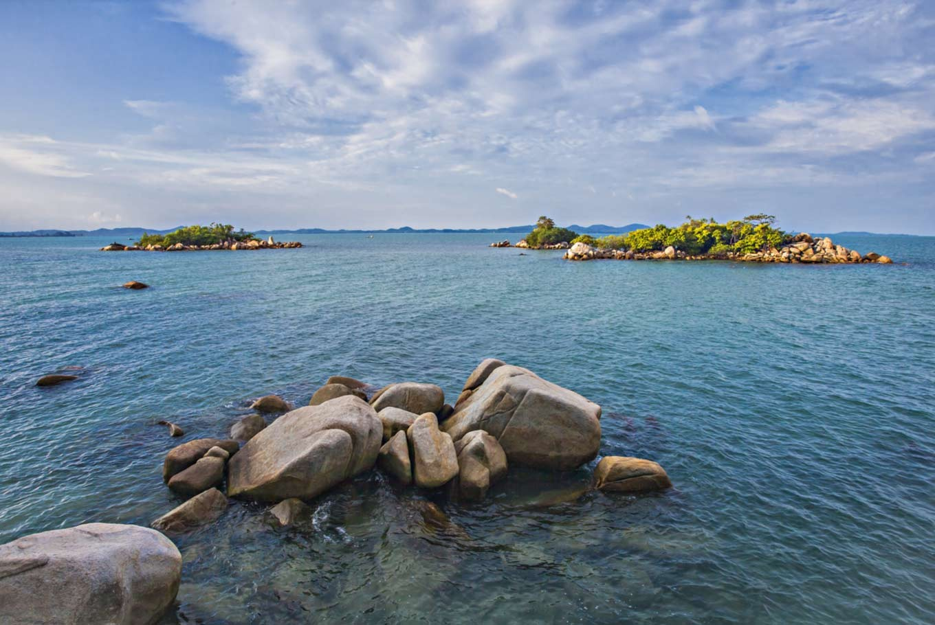 The hidden gems of Bangka Island