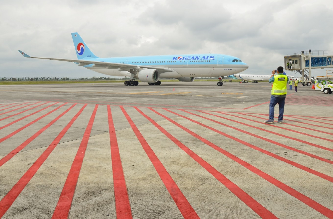 Korean Air opens up chartered flights to Lombok