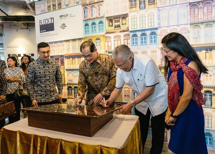 NUS enterprise's Block71 opens in Jakarta