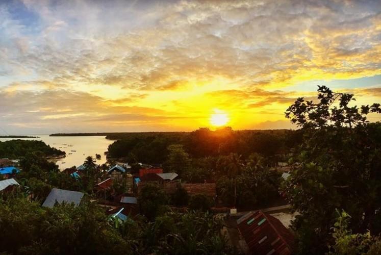 The scenery of Tanimbar Kei Island.