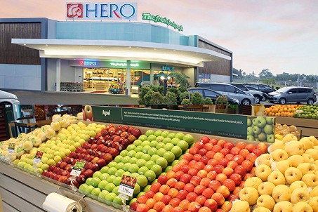 Retailer Hero Supermarket records spike in profit