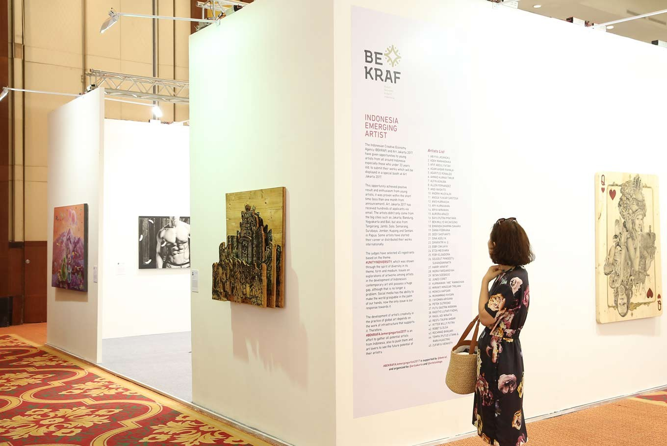 How BEKRAF and Art Jakarta 2017 supported emerging Indonesian artists