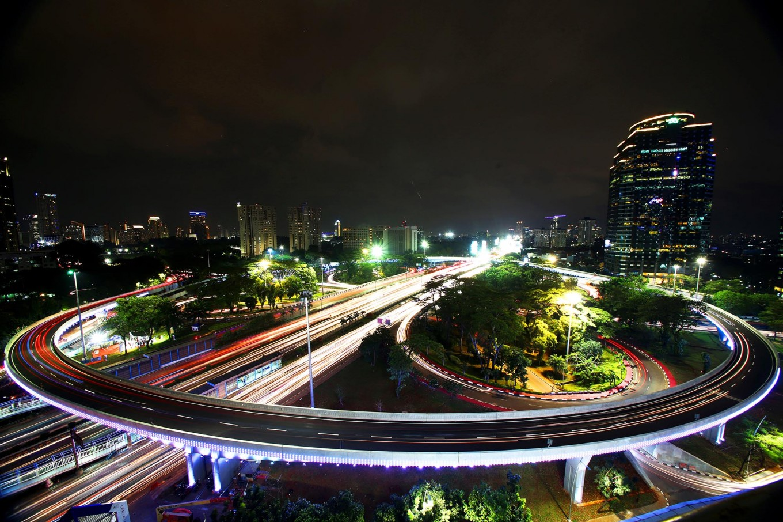Jokowi inaugurates new Semanggi overpass on Independence Day