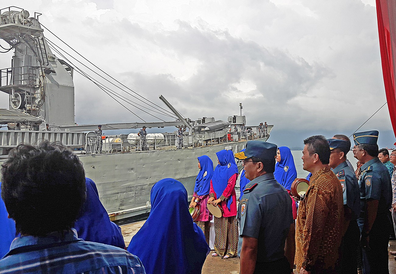 Navy to help distribute Rp 4.5b in RI banknotes to Riau's remote islands