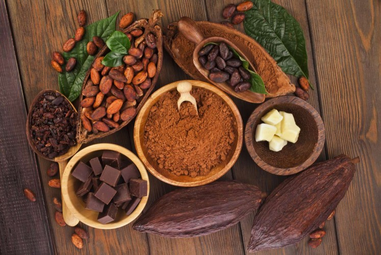 Chocolate is among foods that can reduce anxiety.
