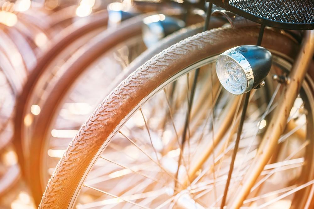 Bike-sharing service available to tourists in Malioboro, Yogyakarta
