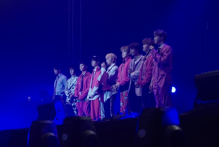 K-pop group NCT127 perform for the first time in Indonesia at Spotify on Stage.