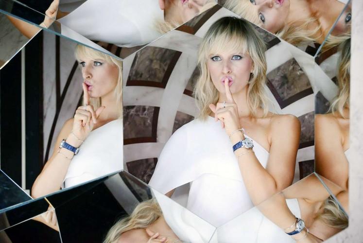 IWC brand ambassador Karolina Kurkova.