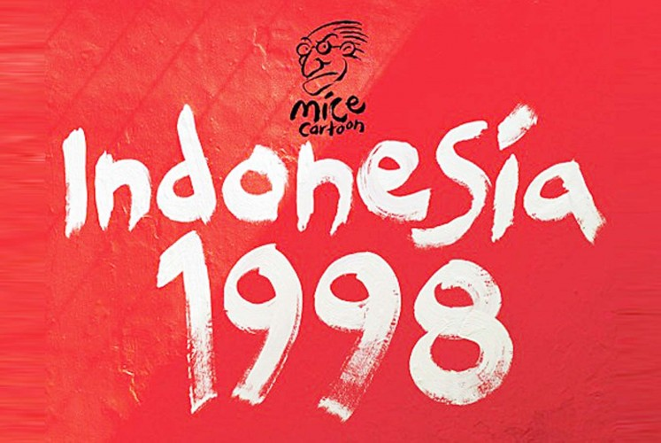 An English translation of the Mice's Indonesia 1998 comic book aims to help more people understand the tragedy.