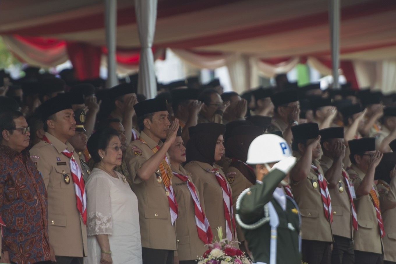 Jokowi calls on Pramuka to face global competition