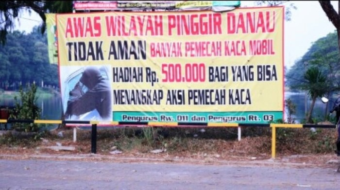 Bekasi residents offer cash prize to catch thieves