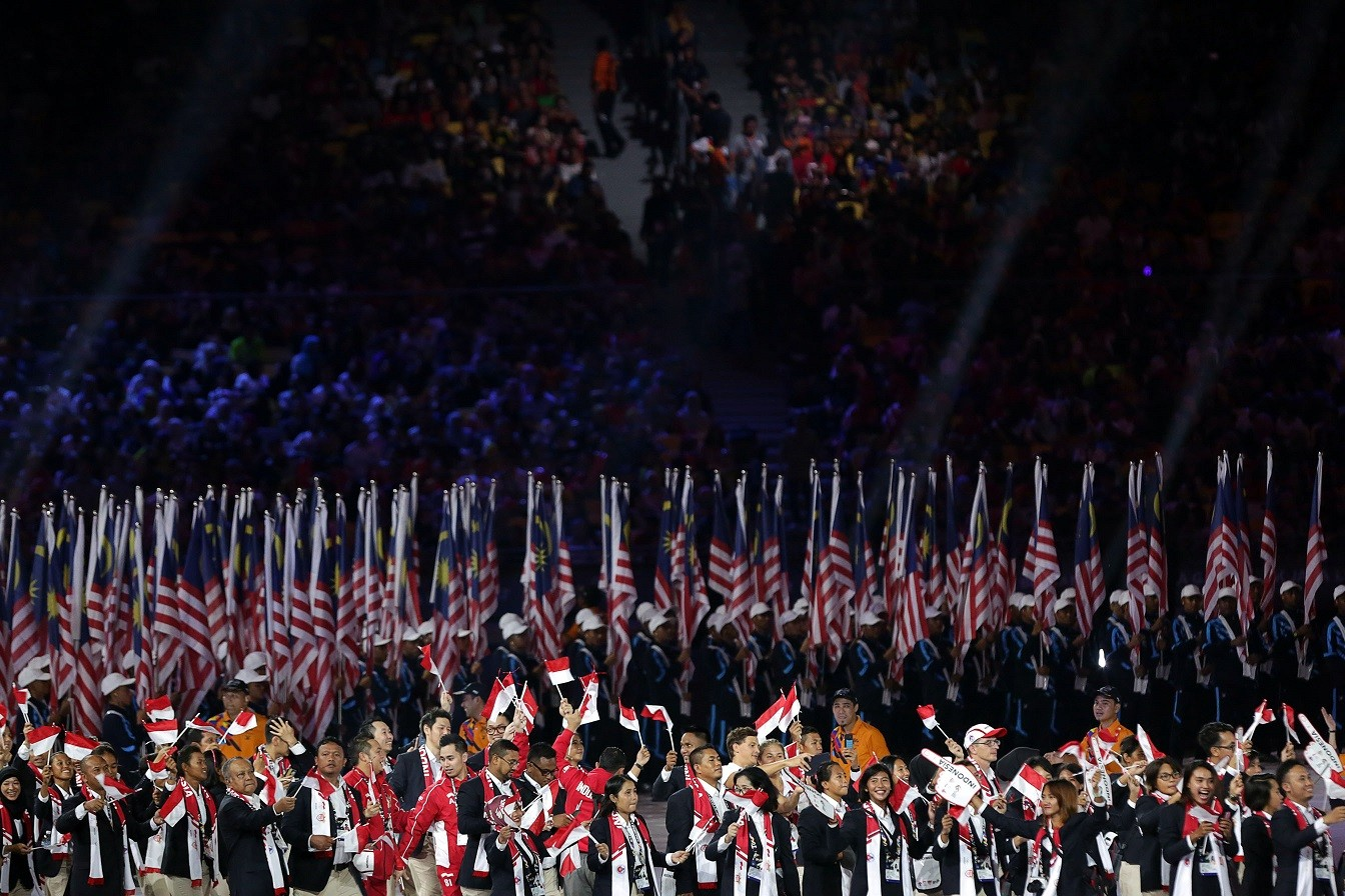 SEA Games: Dynamic, colorful show opens KL 2017