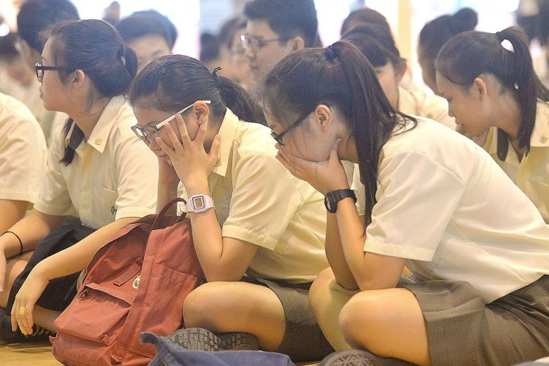 Singapore students suffer from high levels of anxiety: Study