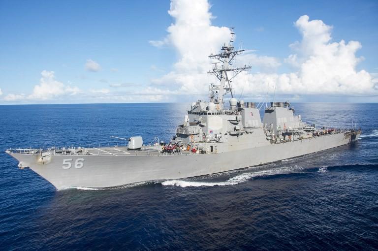 US warship transits Taiwan Strait amid China tensions