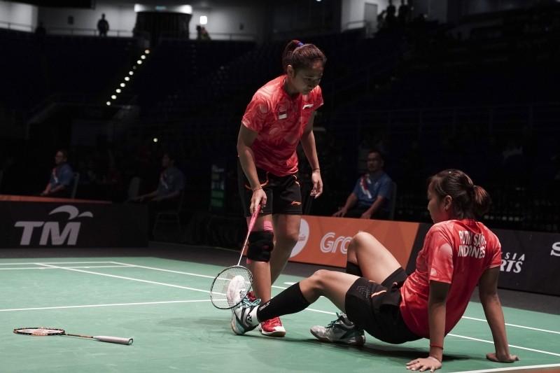 SEA Games: Indonesia's women's team gets bronze after losing badminton semis