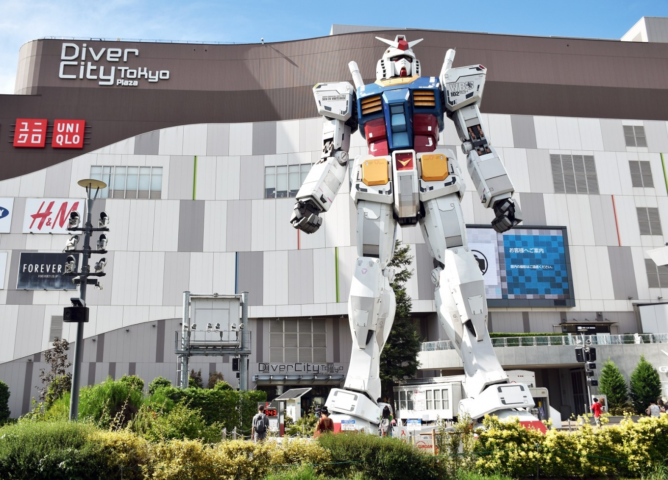 Indonesian scientist helps design giant Gundam robot in Japan
