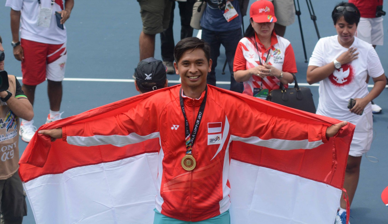 SEA Games: Indonesia's Christopher Rungkat takes home ...