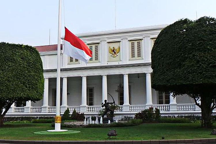 Naked man tries to breach Presidential Palace