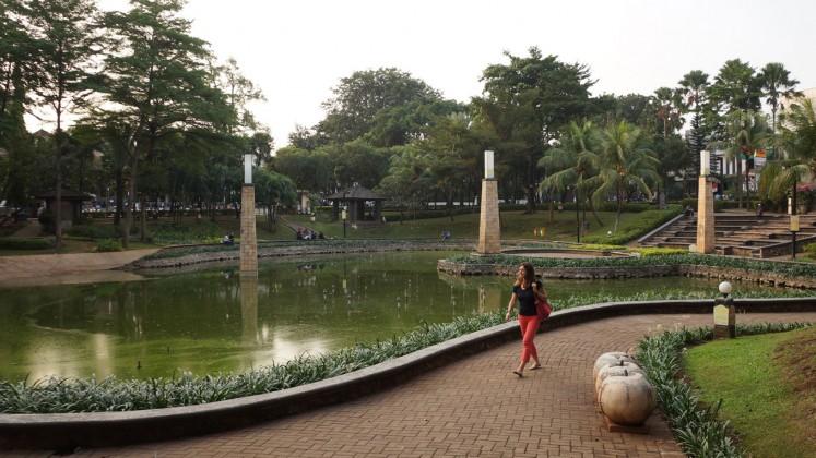 Taman Ayodya on Jl. Barito I, Kebayoran Baru in South Jakarta.