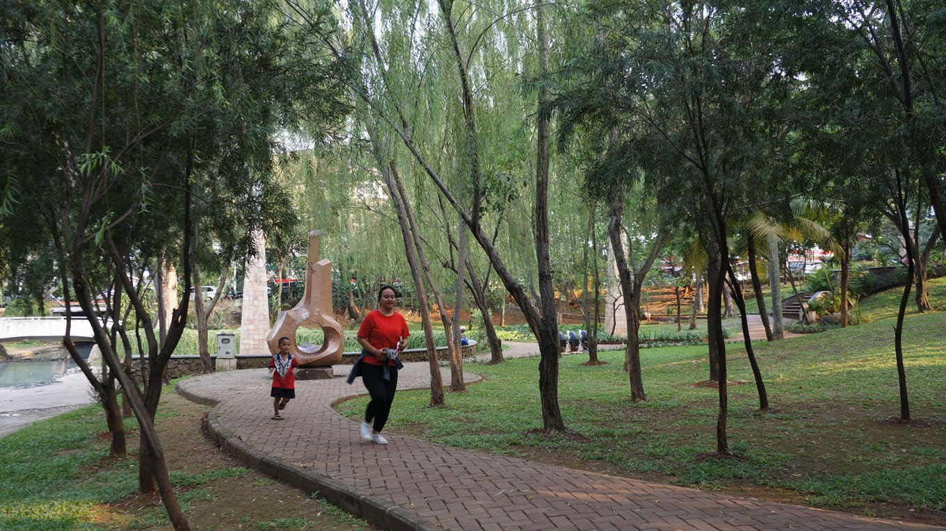 City allocates Rp 140 billion to revamp five parks