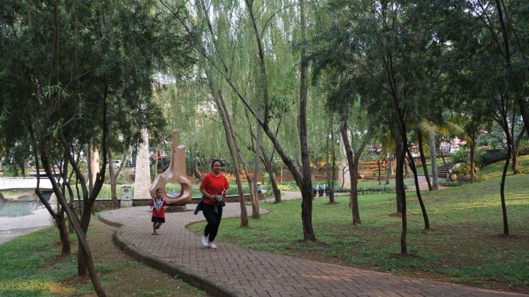 Taman Langsat provides a convenient destination for sports enthusiasts.