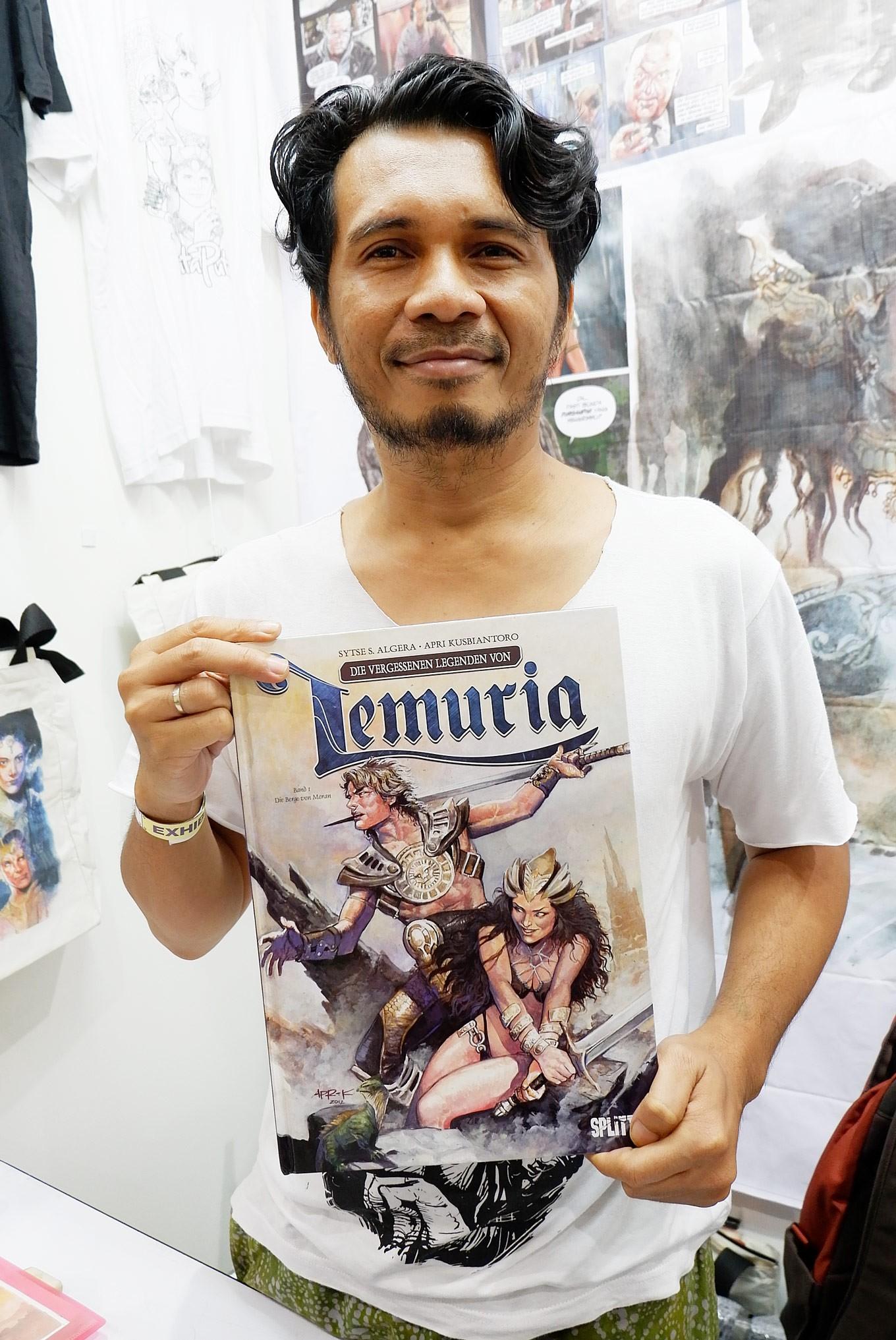Apri Kusbiantoro: Indonesian successor of Don Lawrence
