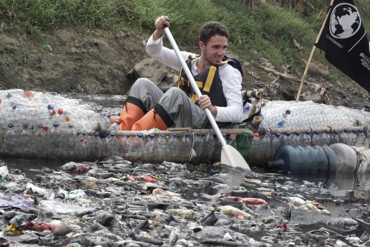 Dubbed #PlasticBottleCitarum expedition, the Benchegib brothers from France spent a total of two weeks cruising the river, starting from Majalaya to Pantai Bahagia, which located at the river mouth in the Java Sea.