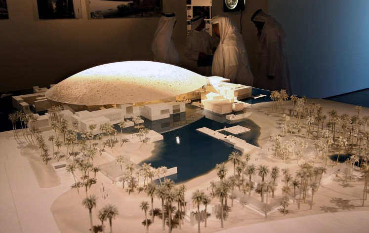 Mideast outpost of Louvre to open in Abu Dhabi in November""