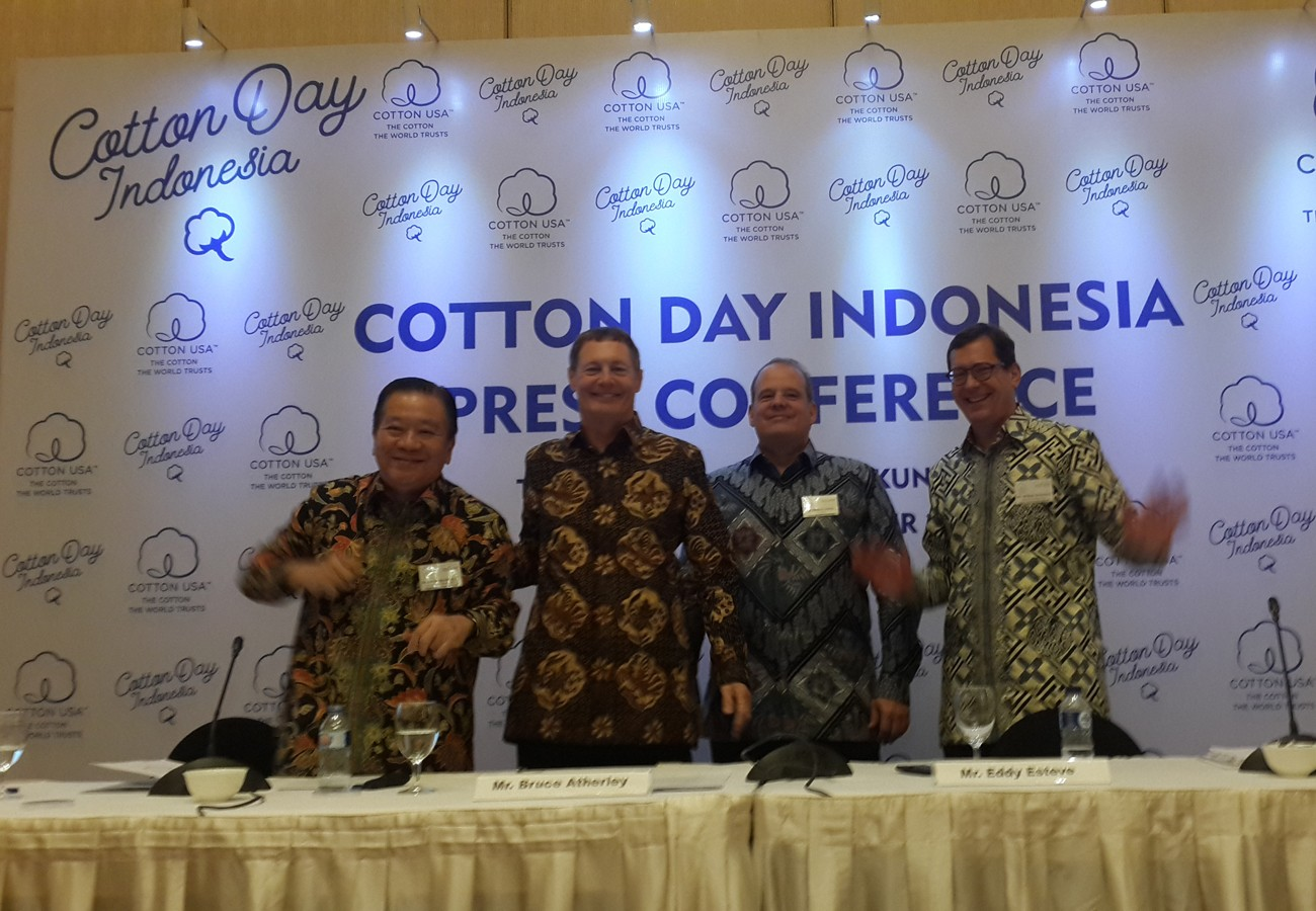 Cotton USA eyes 3% sales increase in Indonesia